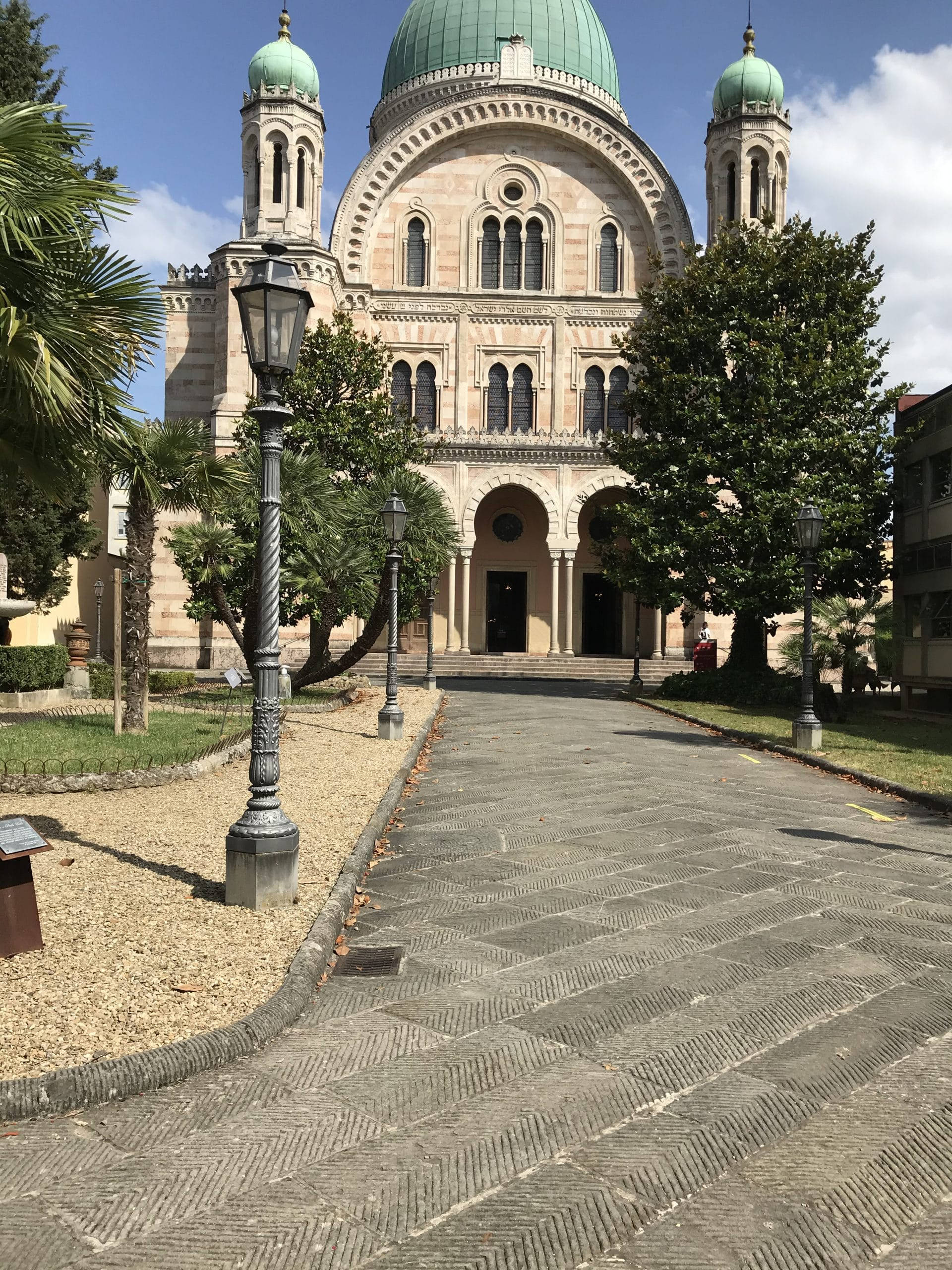 Ricerca perdita idrica sinagoga Firenze